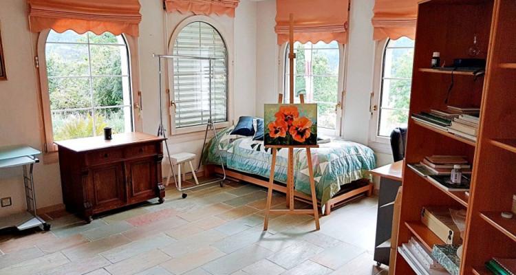 Superbe villa individuelle 8 p / 5 chambres / 4 SDB / piscine / vue image 10