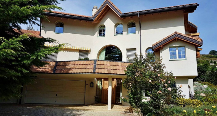Superbe villa individuelle 8 p / 5 chambres / 4 SDB / piscine / vue image 15