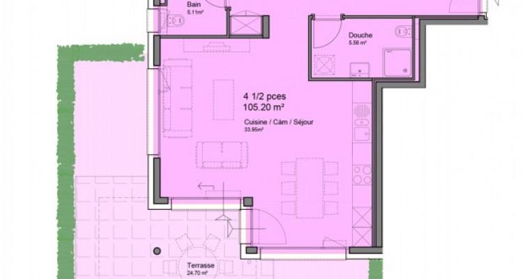 FOTI IMMO - Bel appartement de 4,5 pièces avec jardin. image 5