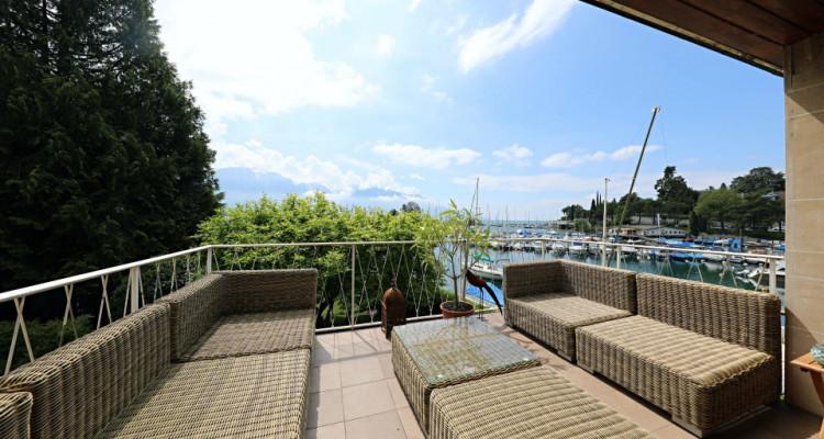Magnifique appartement 5.5p dans Maison sur Lac / cheminée et balcon image 2