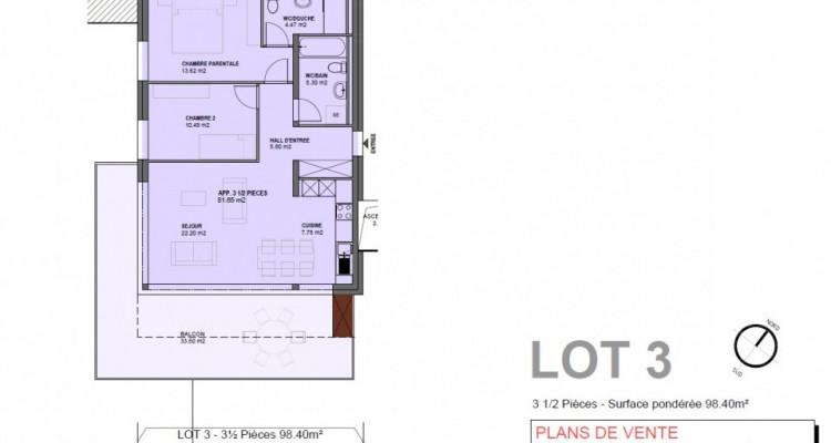 C-Service vous propose un appartement de 3.5 pces sur Drône  image 8