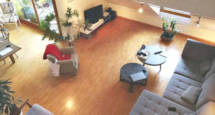 Magnifique duplex en attique 4,5 p/  terrasse / vue lac et montagnes  image 2