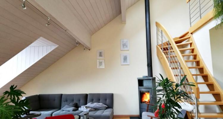 Magnifique duplex en attique 4,5 p/  terrasse / vue lac et montagnes  image 3