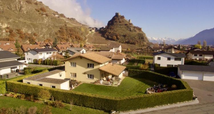 C-SERVICE vous propose une belle maison individuelle à Saillon image 1