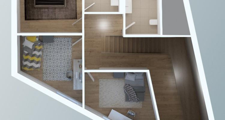FOTI IMMO - Grand duplex dans les combles de 4,5 pièces avec balcon. image 6