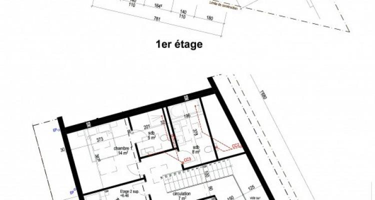 FOTI IMMO - Grand duplex dans les combles de 4,5 pièces avec balcon. image 7