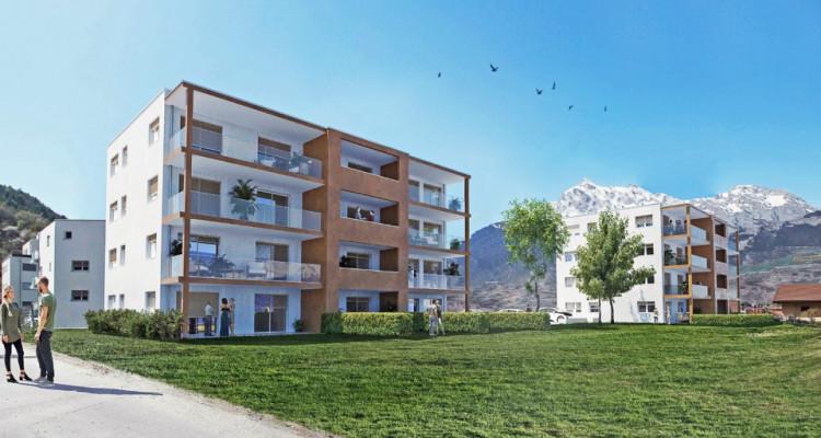 LOCATION VENTE - Appartement neuf de 3 pièces avec terrasse/jardin. image 1