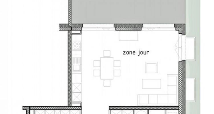 LOCATION VENTE - Appartement neuf de 3 pièces avec terrasse/jardin. image 6