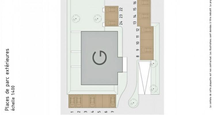LOCATION VENTE - Appartement neuf de 3 pièces avec terrasse/jardin. image 7
