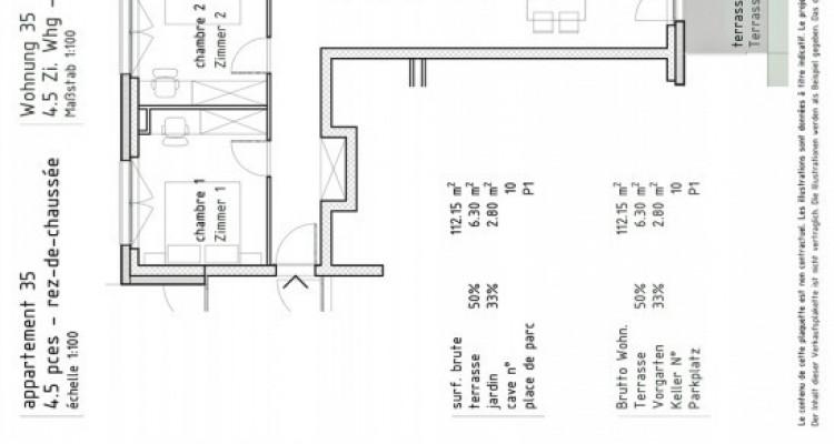 FOTI IMMO - Appartement de 4,5 pièces avec terrasse. image 3