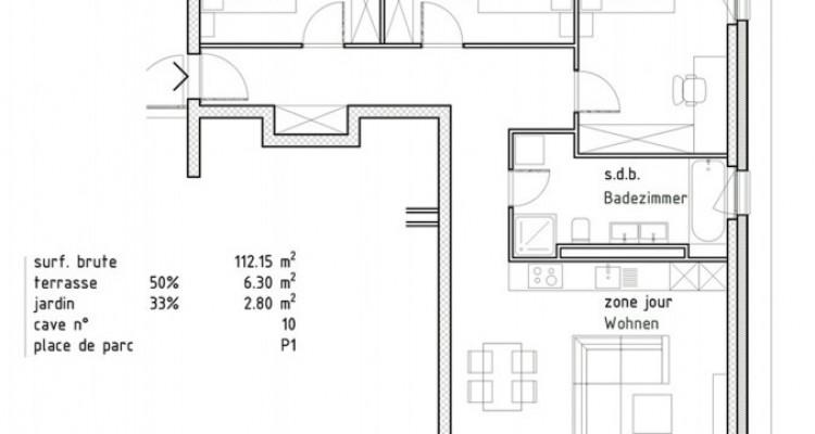 FOTI IMMO - Appartement de 4,5 pièces avec terrasse. image 4