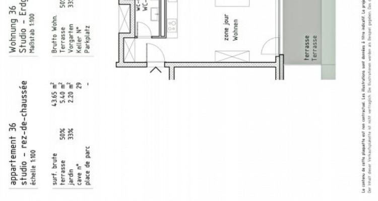 FOTI IMMO - Studio neuf avec terrasse. image 3