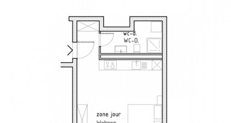 FOTI IMMO - Studio en attique avec balcon. image 4