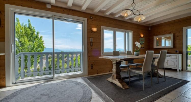 Belle villa spacieuse à Divonne-Les-Bains avec magnifique vue image 11