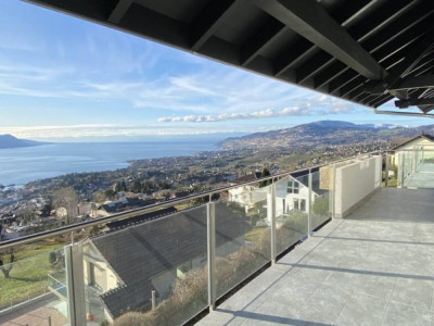 Magnifique 4,5p neuf // 3 chambres // 2 SDB // Terrasse jardin vue image 1