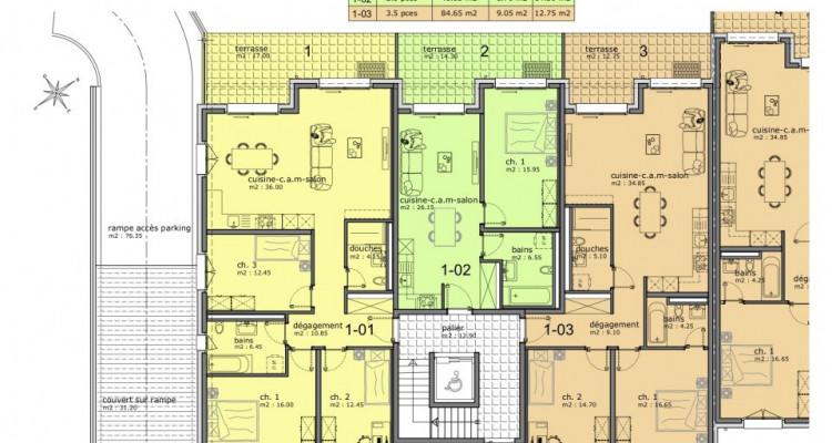 EN EXCLUSIVITE : Appartements de 2.5 pièces dans nouvelle construction image 8