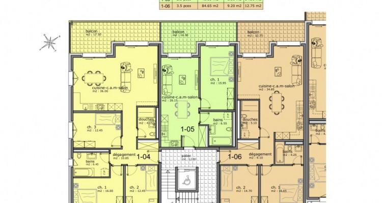 EN EXCLUSIVITE : Appartements de 2.5 pièces dans nouvelle construction image 9