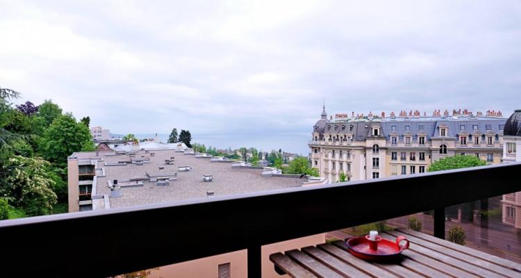Magnifique appart 2,5 p / 1 chambre / 2 SDB / balcon avec vue lac image 5