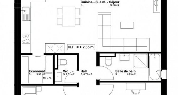 FOTI IMMO - Appartement en attique de 3,5 pièces avec balcon. image 5