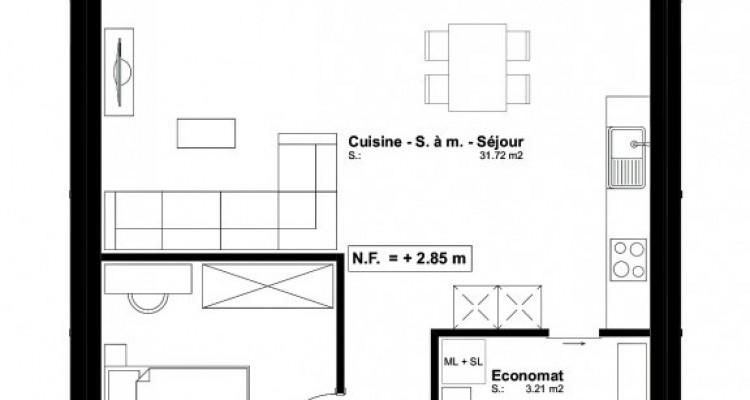 FOTI IMMO - Appartement en attique de 2,5 pièces avec terrasse. image 5