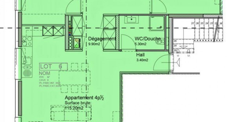 A vos téléphones ! Plus que 2 appartements MINERGIE disponibles !  image 2