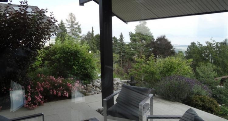 Magnifique villa darchitecte HUF  / Vue lac et Mont-Blanc image 3