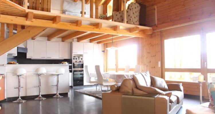 VISITE 3D DISPO // Splendide attique avec très belle vue sur les Alpes image 2