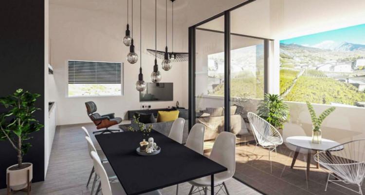 FOTI IMMO - Bel appartement de 2,5 pièces avec loggia et jardin. image 3