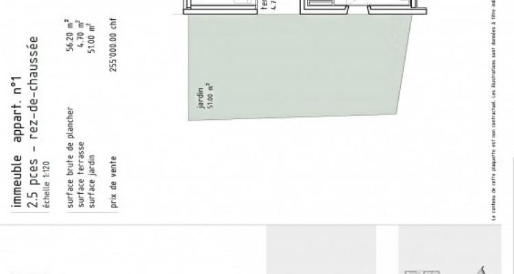 FOTI IMMO - Bel appartement de 2,5 pièces avec loggia et jardin. image 5