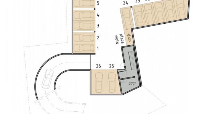 FOTI IMMO - Bel appartement de 2,5 pièces avec loggia et jardin. image 7