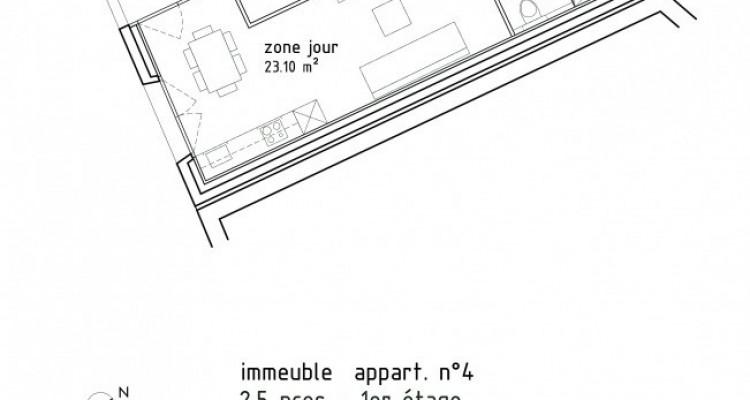 FOTI IMMO - Bel appartement de 2,5 pièces avec loggia. image 6