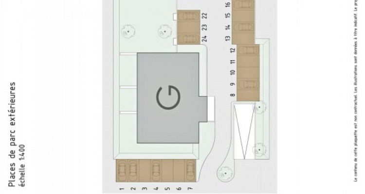 LOCATION VENTE - Bel appartement neuf de 2,5 pièces avec balcon. image 7
