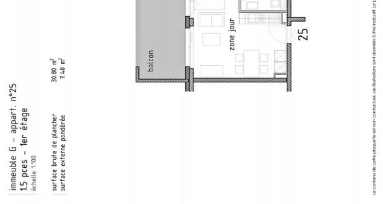 FOTI IMMO - Joli studio neuf avec balcon. image 5