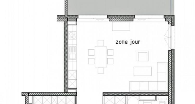 LOCATION VENTE - Bel appartement neuf de 3,5 pièces avec balcon. image 6