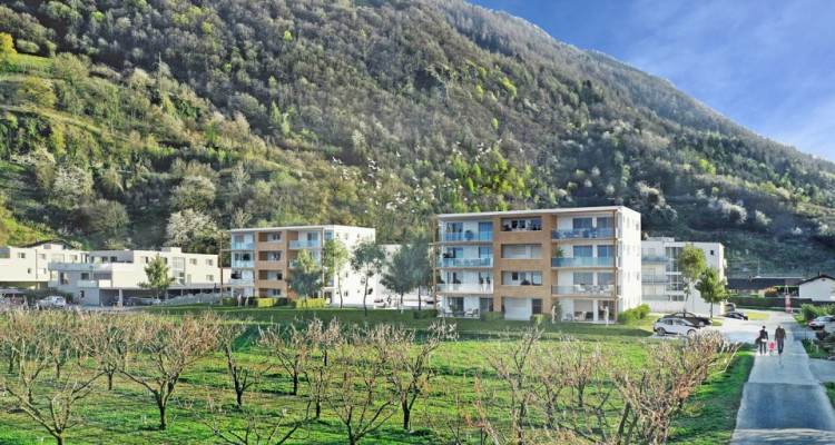LOCATION VENTE - Bel appartement neuf de 2,5 pièces avec balcon. image 4