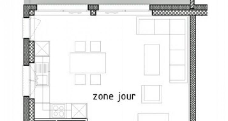 LOCATION VENTE - Bel appartement neuf de 2,5 pièces avec balcon. image 6