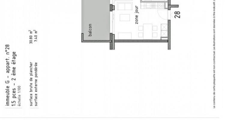 LOCATION VENTE à Fr. 850.-/mois pour un joli studio neuf avec balcon. image 5