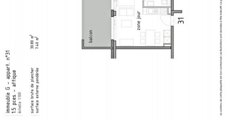 FOTI IMMO - Joli studio neuf en attique avec balcon. image 5