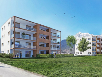 LOCATION VENTE - Attique neuf de 3,5 pièces avec balcon. image 1