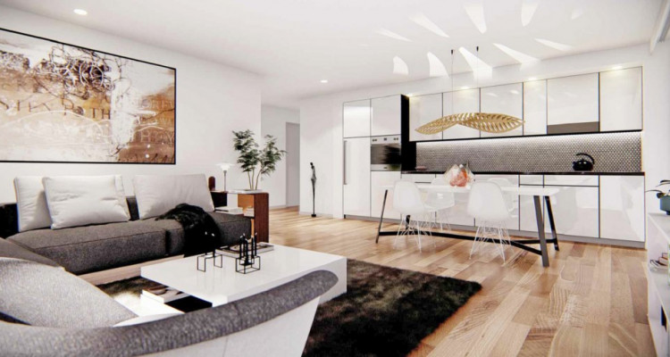 LOCATION VENTE - Joli studio neuf avec balcon. image 2