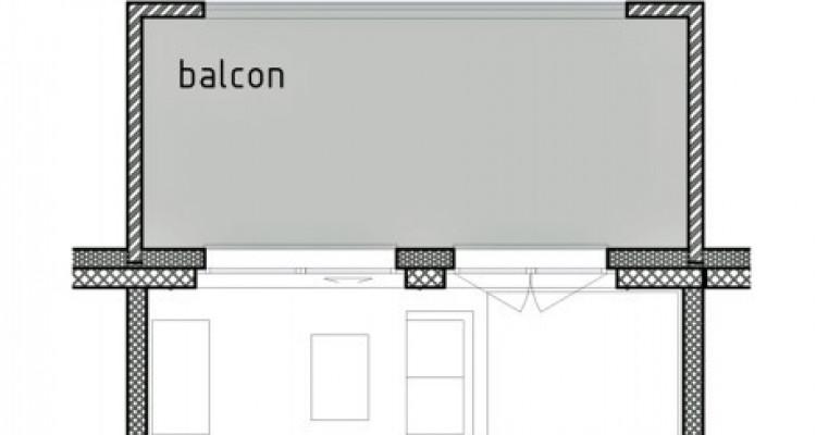 LOCATION VENTE - Joli studio neuf avec balcon. image 6
