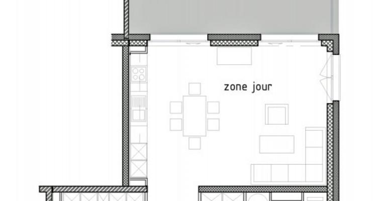 FOTI IMMO - Bel appartement neuf de 3,5 pièces avec balcon. image 6