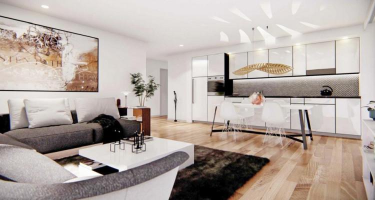 LOCATION VENTE - Bel attique neuf de 2,5 pièces avec balcon. image 2
