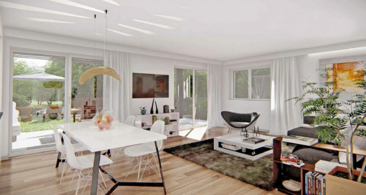 LOCATION VENTE - Bel attique neuf de 2,5 pièces avec balcon. image 3
