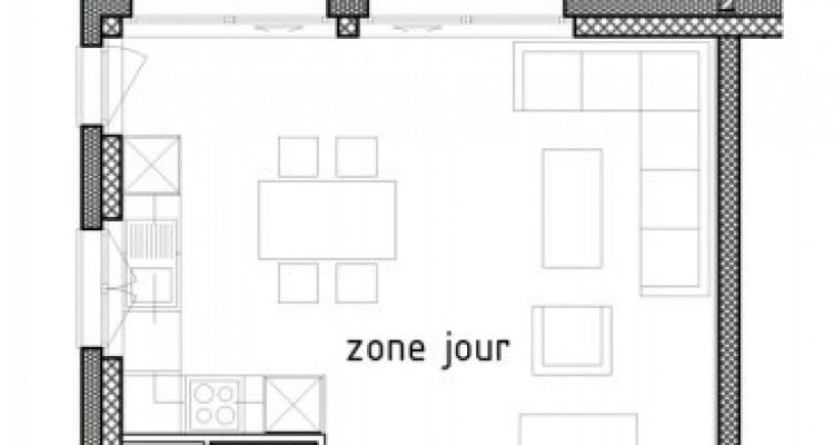 LOCATION VENTE - Bel attique neuf de 2,5 pièces avec balcon. image 6