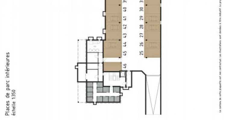 LOCATION VENTE - Attique neuf de 3,5 pièces avec balcon. image 8
