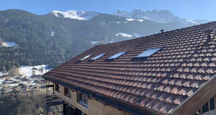 Superbe chalet de 3 appartements avec terrasses entièrement rénovés (VS-CH) image 2