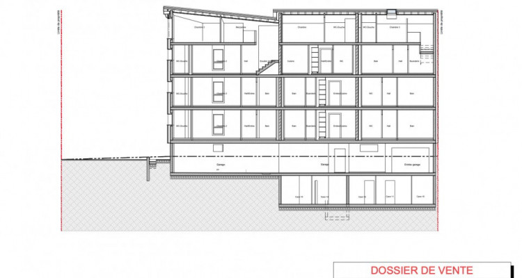 C-Service vous propose un appartement en attique duplex de 4,5 pièces image 8