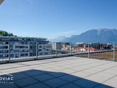 Splendide appartement rooftop avec vue panoramique à Vevey image 1