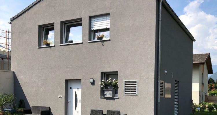 C-SERVICE vous propose une villa jumelée par le garage à Saxon image 7